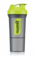 Nuzest Shaker Grey with Green Top