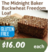 The Midnight Baker Buckwheat  Freedom Loaf