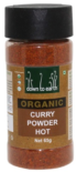 Down To Earth Organic Curry Powder HOT 65g