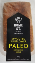 Home St. Sprouted Sunflower Paleo Bread 470g
