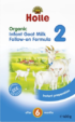 Holle Goat Follow on Formula for Babies 400g