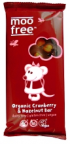 Moo Free Cranberry Hazel Milk Chocolate Bar 100g