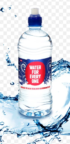 Water for Everyone Natural Spring Water Sipper Bottle 750ml
